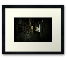 A Bit of Peace and Quiet Framed Print