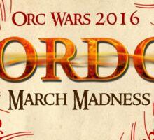 Mordor Orc Wars 2016 Sticker