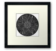 Uncoloured Crest 220 Framed Print