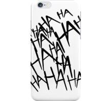 Jared Leto's Joker laugh iPhone Case/Skin