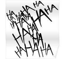 Jared Leto's Joker laugh Poster