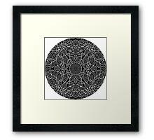 Uncoloured Crest 265 Framed Print