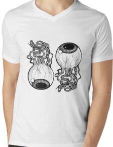 Eye Ball Mens V-Neck T-Shirt