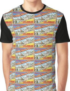 Vintage greetings from Wilmington Delaware Graphic T-Shirt