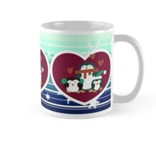 Holiday Penguins Mug