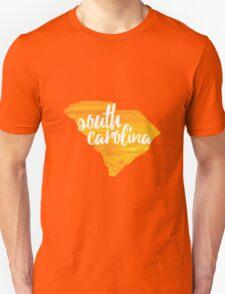 South Carolina - yellow watercolor Unisex T-Shirt
