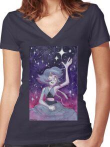 Where is Home?  Steven Universe Lapis Lazuli Women's Fitted V-Neck T-Shirt