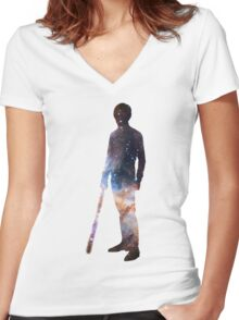 Luke Skywalker Women's Fitted V-Neck T-Shirt