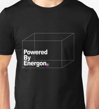 Powered By Energon Unisex T-Shirt