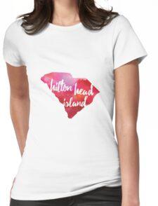 Hilton Head Island, South Carolina  Womens Fitted T-Shirt