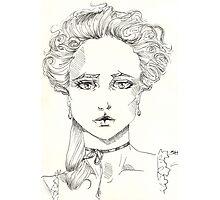 rococo girl, Marie Antoinette Photographic Print