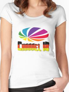 Channel 18 Women's Fitted Scoop T-Shirt