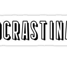 Netflix - Procrastinate Sticker