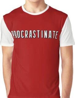 Netflix - Procrastinate Graphic T-Shirt