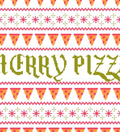 Merry Pizza Sticker