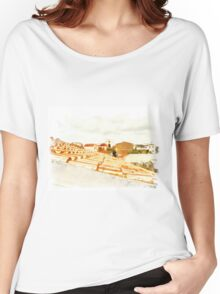 Arzachena: view Women's Relaxed Fit T-Shirt