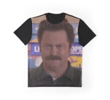 Ron Swanson Graphic T-Shirt