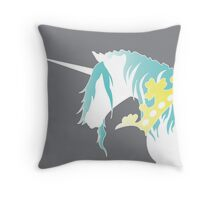 Royal Unicorn Throw Pillow