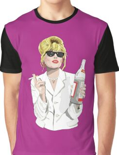 Patsy Stone AbFab Cheers Darling Graphic T-Shirt