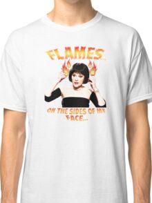 Clue Mrs White Flames Classic T-Shirt