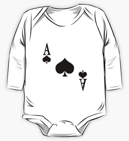 Ace of Spades One Piece - Long Sleeve