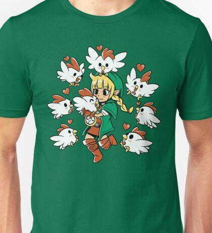 Linkle the Cucco Queen  Unisex T-Shirt