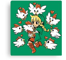 Linkle the Cucco Queen  Canvas Print
