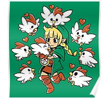 Linkle the Cucco Queen  Poster