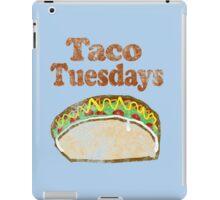 Vintage Taco Tuesday iPad Case/Skin