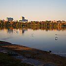 Lake Leamy in Morning Light by Yannik Hay