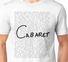Cabaret Pop Unisex T-Shirt