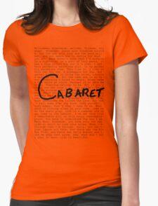 Cabaret Pop Womens Fitted T-Shirt