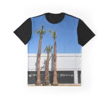 Three palm trees in Vegas Graphic T-Shirt
