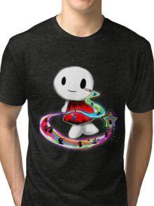 Tear Triping Tri-blend T-Shirt