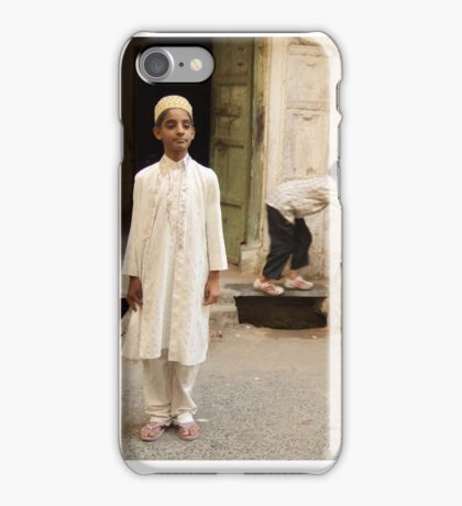 Man Boy iPhone Case/Skin