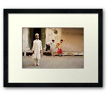 Man Boy Framed Print