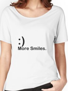 'More Smiles' Do it for the World Women's Relaxed Fit T-Shirt