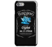 Heisenberg Blue - 99.1% Pure  iPhone Case/Skin