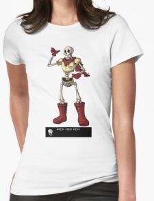 Papyrus NYEH HEH HEH! Womens Fitted T-Shirt