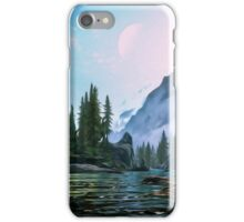 Dreaming worlds iPhone Case/Skin