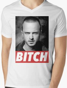 PINKMAN Mens V-Neck T-Shirt