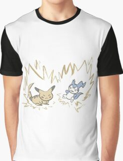 Pokemon vs Digimon Graphic T-Shirt