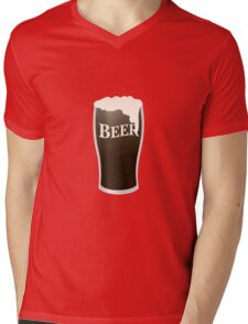 Beer Mens V-Neck T-Shirt