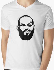 Jones face Mens V-Neck T-Shirt