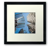 Invasion 3 Framed Print
