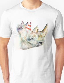 Rhino Party Unisex T-Shirt