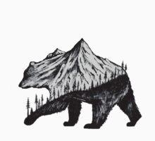 mountain bear One Piece - Short Sleeve