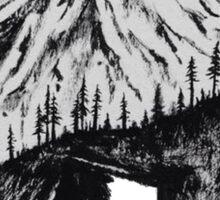 mountain bear Sticker