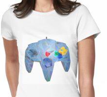 Nintendo 64 Controller Womens Fitted T-Shirt
