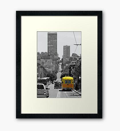San Francisco Tram Framed Print